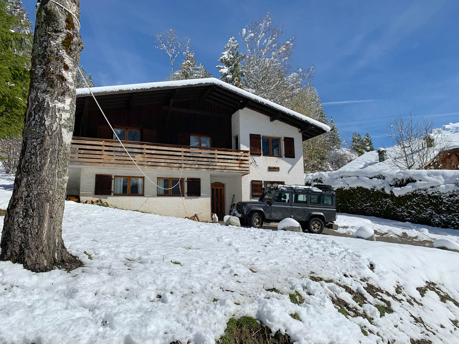 Chalet with land in Chamonix Les Pécles