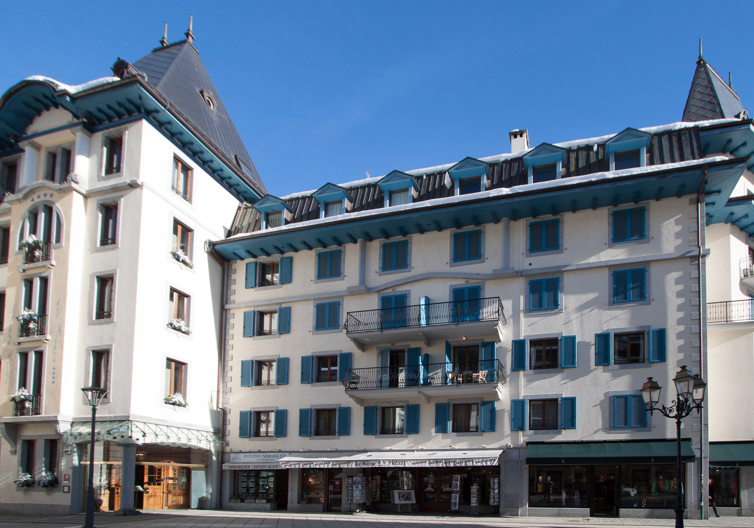 Top floor apartment Les Alpes 1 Chamonix centre