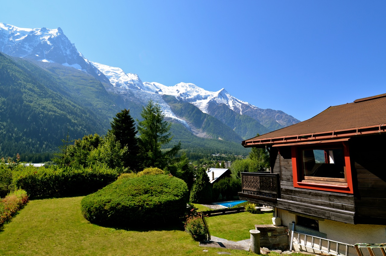 Unique property for sale in Chamonix Les Pècles