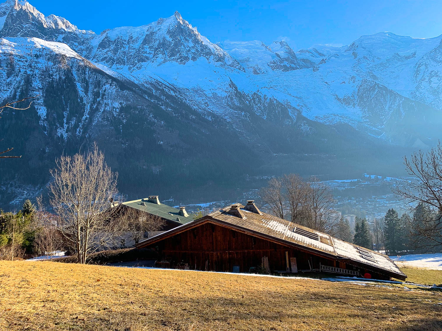 Land for sale. Chamonix les Moussoux